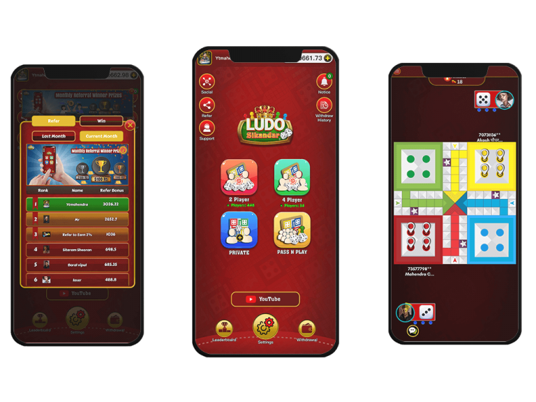 Ludo Sikandar, play real cash ludo game online and earn money. withdraw money to paytm or bank account.real money ludo game in india